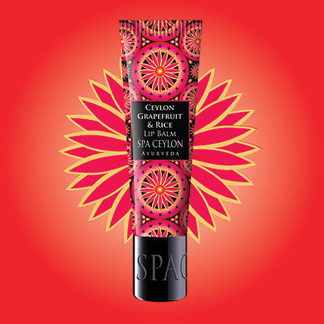 CEYLON GRAPEFRUIT & RICE - Lip Balm SPA CEYLON Natural Luxury Ayurveda