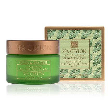 Neem & Tea Tree - Mattifying All - Day Protector Spf 5+