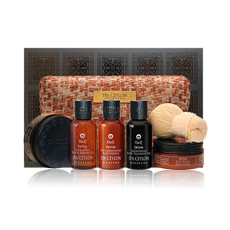 DETOX Home Spa Set SPA CEYLON Natural Luxury Ayurveda