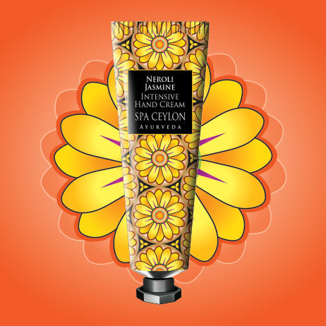 NEROLI JASMINE - INTENSIVE HAND & NAIL CREAM SPA CEYLON Natural Luxury Ayurveda