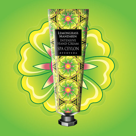 Lemongrass Mandarin - Intensive Hand Cream, HAND THERAPY, SPA CEYLON AUSTRALIA