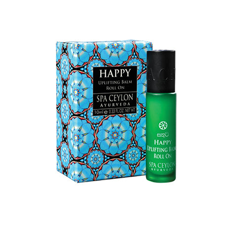 Happy - Uplifting Balm Roll On, BALMS & OILS, SPA CEYLON AUSTRALIA