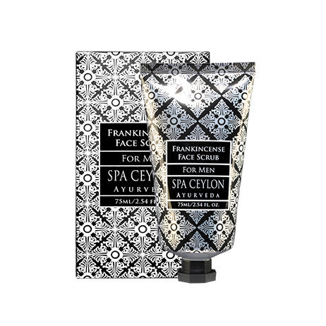 FRANKINCENSE Face Scrub SPA CEYLON Natural Luxury Ayurveda