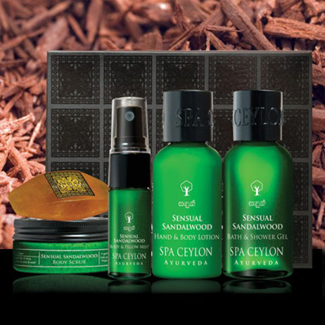 Sensual Sandalwood - Bath & Body Care Discovery Set, GIFT SETS, SPA CEYLON AUSTRALIA