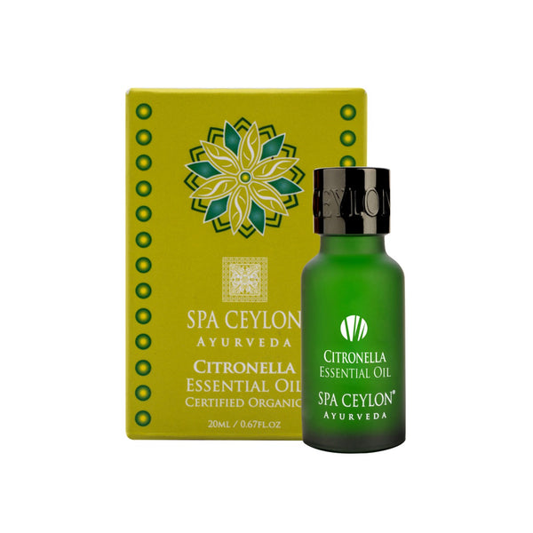 Citronella - Essential Oil, SINGLE INGREDIENT OILS, SPA CEYLON AUSTRALIA