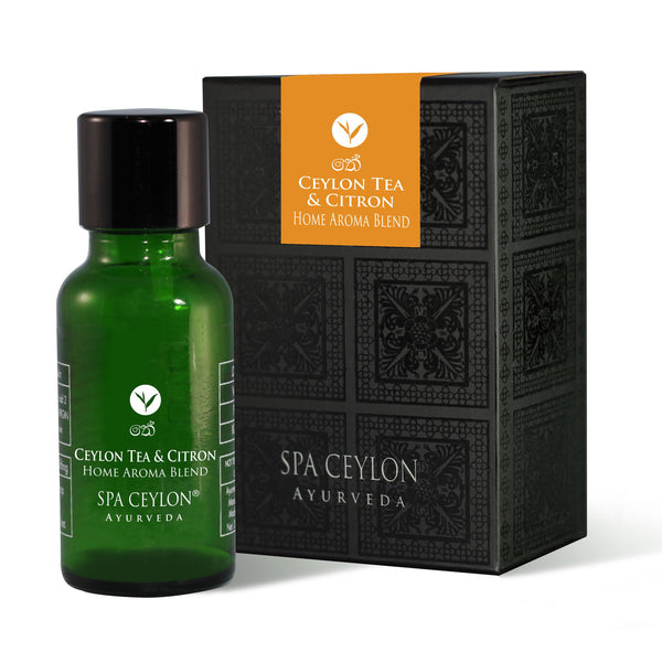 CEYLON TEA & CITRON - Essential Oil Blend SPA CEYLON Natural Luxury Ayurveda