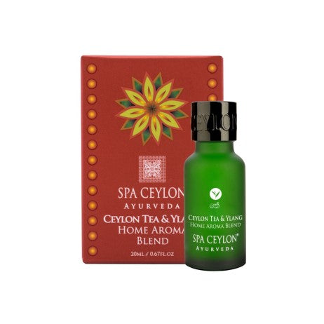 Ceylon Tea & Ylang - Essential Oil Blend, Home Aroma Blend, SPA CEYLON AUSTRALIA