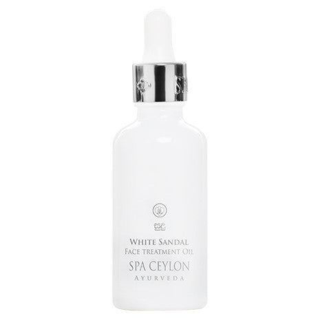 WHITE SANDAL Night Repair Face Treatment Oil SPA CEYLON Natural Luxury Ayurveda