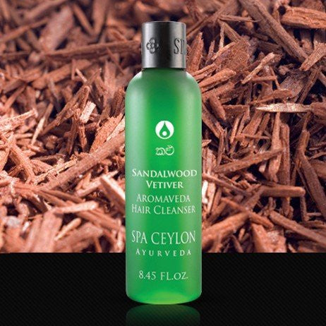 SPA CEYLON Natural Luxury Ayurveda SANDALWOOD VETIVER Hair Cleanser