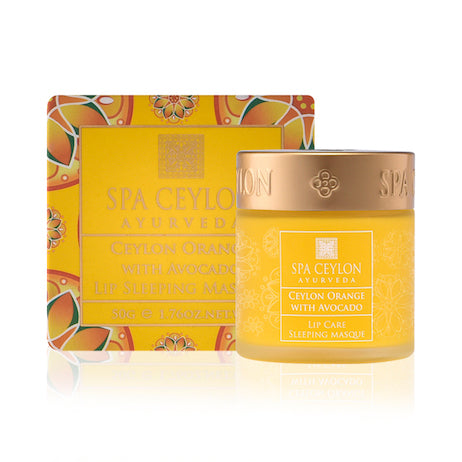 Ceylon Orange With Avocado - Lip Sleeping Masque
