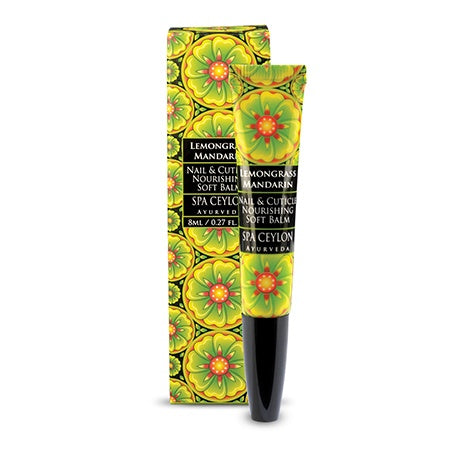 Lemongrass Mandarin - Nail & Cuticle Nourishing Soft Balm, BALMS & OILS, SPA CEYLON AUSTRALIA