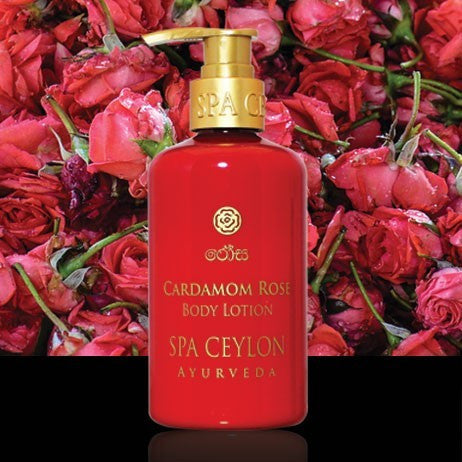 CARDAMOM ROSE - Body Lotion SPA CEYLON Natural Luxury Ayurveda