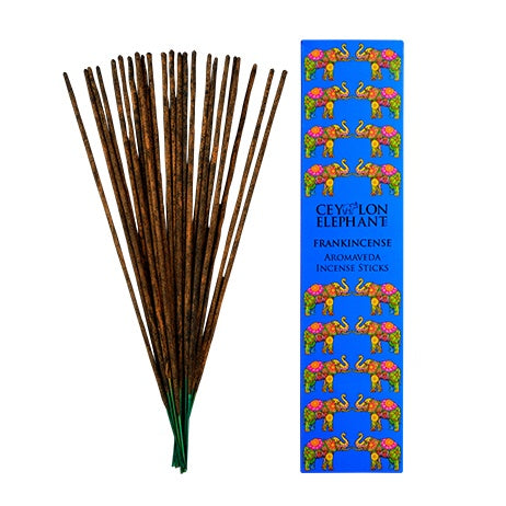 Ceylon Frankincense Kaffir Lime - Aromaveda Incense Sticks, Home Aroma, SPA CEYLON AUSTRALIA