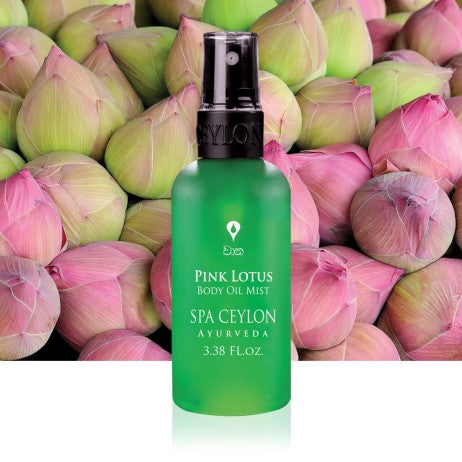 Pink Lotus Body Oil Mist