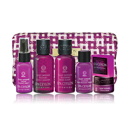 Sleep Intense Tranquility Ritual Set SPA CEYLON Natural Luxury Ayurveda