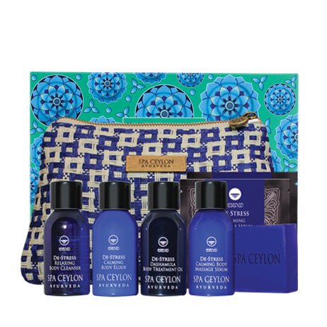 De Stress Spa Indulgence Set - SPA CEYLON Natural Luxury Ayurveda General