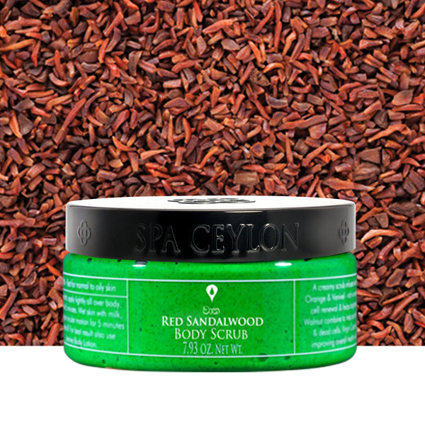 Red Sandalwood - Body Scrub, BATH & BODY, SPA CEYLON AUSTRALIA