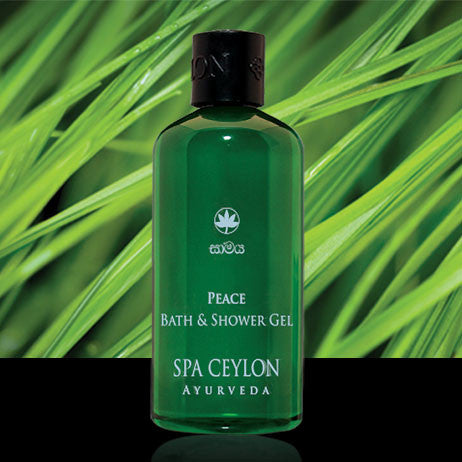 PEACE - Bath & Shower Gel SPA CEYLON Natural Luxury Ayurveda