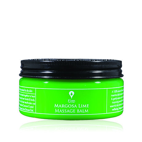 MARGOSA LIME Massage Balm SPA CEYLON Natural Luxury Ayurveda