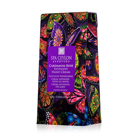 Cardamom Rose - Intensive Hand Cream Limited Edition, Hand Cream, SPA CEYLON AUSTRALIA
