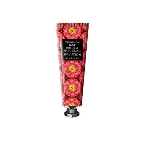 CARDAMOM ROSE - INTENSIVE HAND & NAIL CREAM SPA CEYLON Natural Luxury Ayurveda