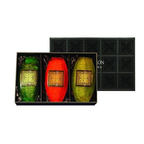 CEYLON HERBS - Exfoliating Bar Trio - SPA CEYLON Natural Luxury Ayurveda
