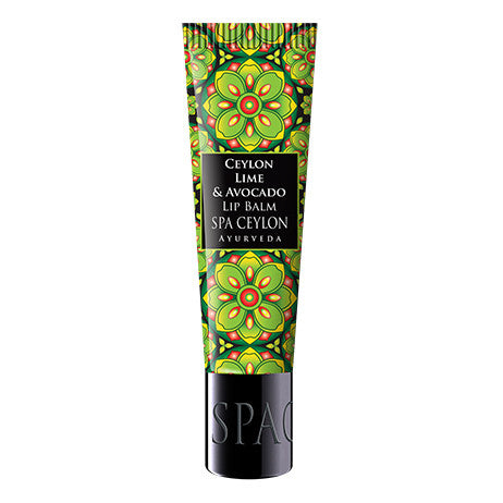 CEYLON LIME & AVOCADO - Lip Balm SPA CEYLON Natural Luxury Ayurveda