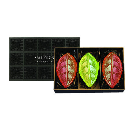 CEYLON TEA Cleansing Bar Trio SPA CEYLON Natural Luxury Ayurveda