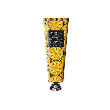 CEYLON TEA YLANG - Intensive Hand Cream SPA CEYLON Natural Luxury Ayurveda