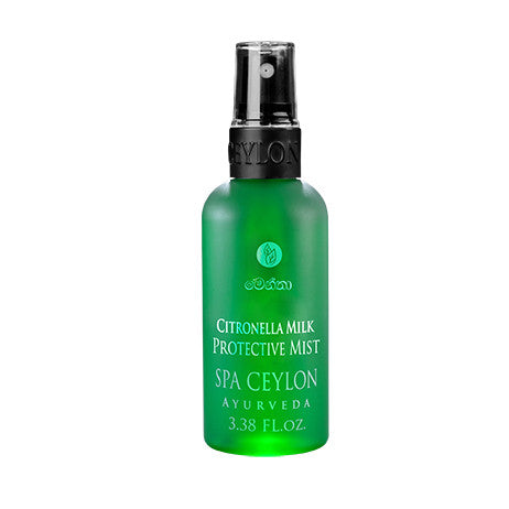 CITRONELLA MILK - Protective Mist SPA CEYLON Natural Luxury Ayurveda