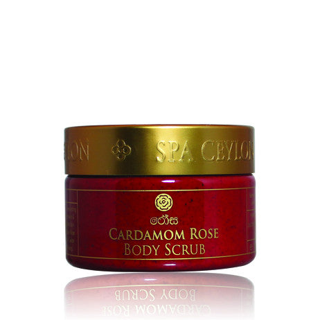 CARDAMOM ROSE Body Scrub SPA CEYLON Natural Luxury Ayurveda