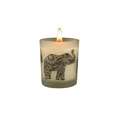 Ceylon Elephant - Frankincense Kaffir Lime Natural Candle
