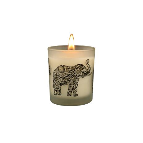 Ceylon Elephant - Pink Grapefruit Natural Candle, Home Aroma, SPA CEYLON AUSTRALIA
