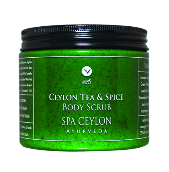 CEYLON TEA & SPICE - Body Scrub SPA CEYLON Natural Luxury Ayurveda