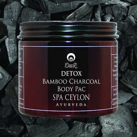 DETOX Bamboo Charcoal Body Pac SPA CEYLON Natural Luxury Ayurveda