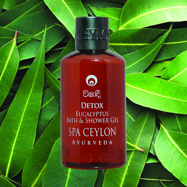 DETOX - Eucalyptus Bath & Shower Gel SPA CEYLON Natural Luxury Ayurveda