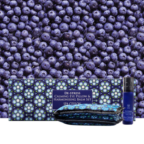 De Stress - Calming Eye Pillow & Harmonising Balm Set