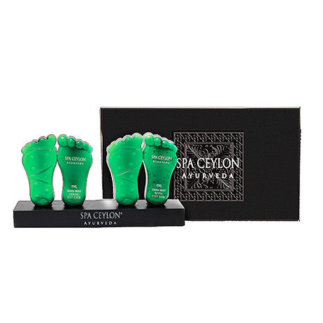 GREEN MINT FOOT LUXURIES COLLECTION SPA CEYLON Natural Luxury Ayurveda