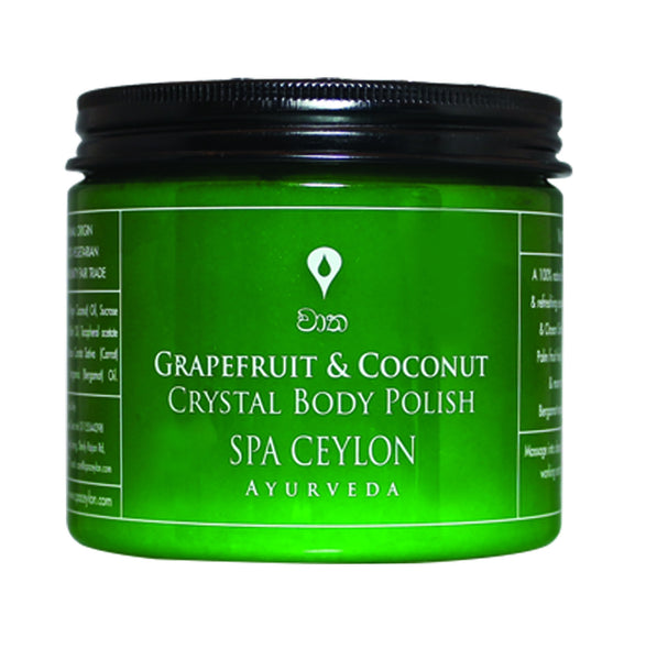GRAPEFRUIT COCONUT - Crystal Body Polish, Crystal Body Polish, SPA CEYLON AUSTRALIA