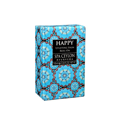 Happy - Uplifting Balm Roll On - SPA CEYLON Natural Luxury Ayurveda BALMS & OILS