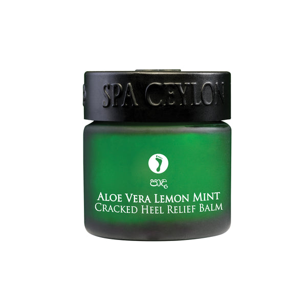 ALOE VERA LEMON MINT - Cracked Heel Relief Balm SPA CEYLON Natural Luxury Ayurveda