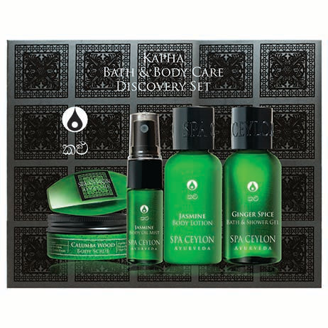 Kapha - Bath & Body Care Discovery Set, GIFT SETS, SPA CEYLON AUSTRALIA