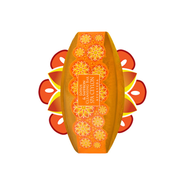 Lotus & Saffron - Cleansing Bar, BATH & BODY, SPA CEYLON AUSTRALIA
