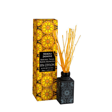 NEROLI JASMINE - Twigs Room Aromizer SPA CEYLON Natural Luxury Ayurveda