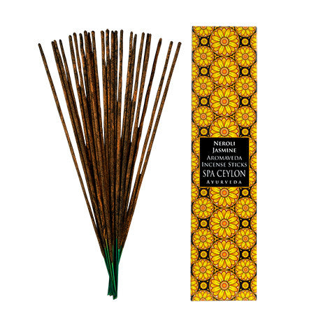 Neroli Jasmine - Aromaveda Incense Sticks, Home Aroma, SPA CEYLON AUSTRALIA