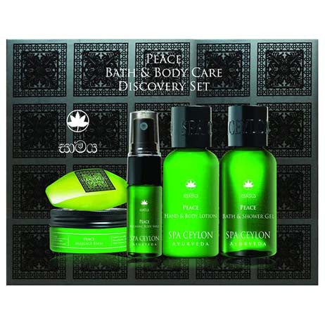 PEACE - BATH & BODY CARE DISCOVERY SET SPA CEYLON Natural Luxury Ayurveda