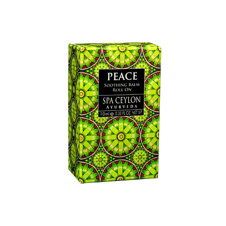 Peace - Soothing Balm Roll On - SPA CEYLON Natural Luxury Ayurveda BALMS & OILS