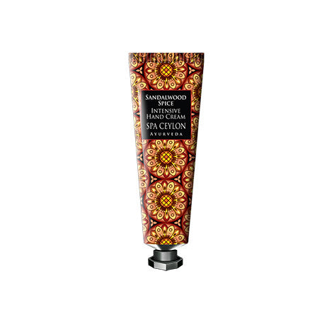 SANDALWOOD SPICE - Intensive Hand Cream SPA CEYLON Natural Luxury Ayurveda