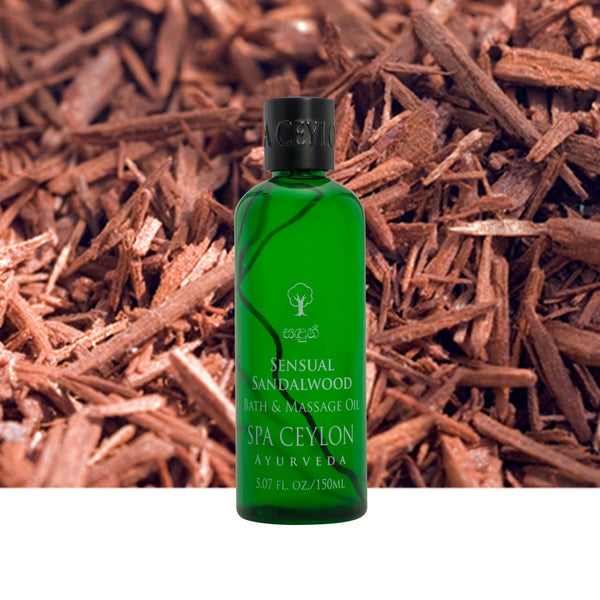 Sensual Sandalwood - Massage & Bath Oil, BALMS & OILS, SPA CEYLON AUSTRALIA