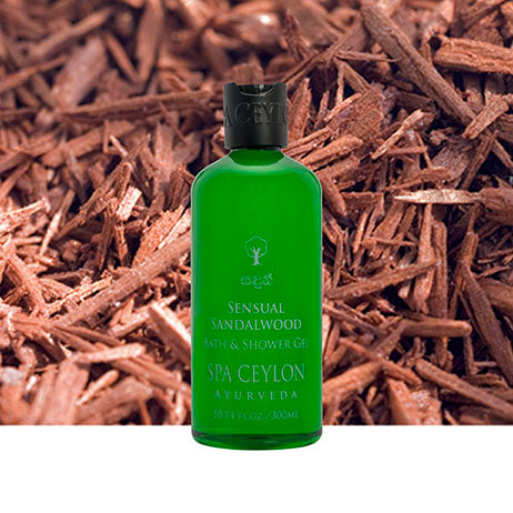 Sensual Sandalwood - Bath & Shower Gel, BATH & BODY, SPA CEYLON AUSTRALIA